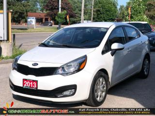 Used 2013 Kia Rio LX+|NO ACCIDENT|BLUETOOTH|HEATED SEATS|CERTIFIED for sale in Oakville, ON