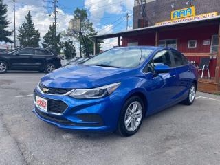 Used 2016 Chevrolet Cruze L LT Remote Start for sale in Scarborough, ON