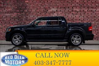 Used 2010 Ford Explorer Sport Trac AWD Adrenalin Leather Roof Nav for sale in Red Deer, AB