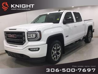 Used 2017 GMC Sierra 1500 SLT All Terrain Crew Cab | Leather | Sunroof | for sale in Regina, SK