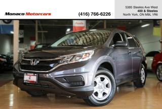 Used 2016 Honda CR-V 2WD LX - BACKUP CAMERA|HEATED SEATS|BLUETOOTH for sale in North York, ON