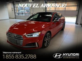 Used 2018 Audi S5 3.0T TECHNIK QUATTRO + GARANTIE + NAVI + for sale in Drummondville, QC