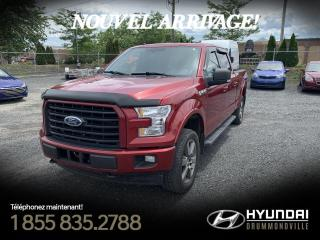 Used 2017 Ford F-150 XLT SPORT + GARANTIE + NAVI + TOIT PANO for sale in Drummondville, QC