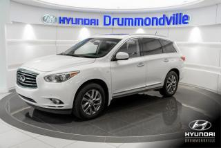 Used 2014 Infiniti QX60 AWD + GARANTIE + CUIR + NAVI + TOIT + WO for sale in Drummondville, QC