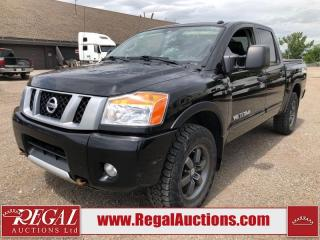 Used 2015 Nissan Titan PRO-4X Crew CAB SWB 4WD 5.6L for sale in Calgary, AB
