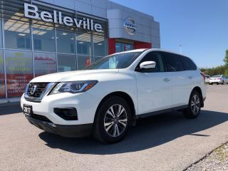 Used 2017 Nissan Pathfinder S 1 OWNER LOCAL TRADE CLEAN CARPROOF for sale in Belleville, ON