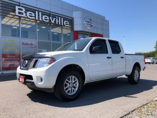 Used 2014 Nissan Frontier SV CREW 4WD 1OWNER LOCAL TRADE, CLEAN CARPROOF for sale in Belleville, ON