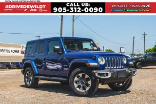 New 2020 Jeep Wrangler UNLIMITED SAHARA | NAV | ALPINE | LEATHER | DUAL T for sale in Hamilton, ON