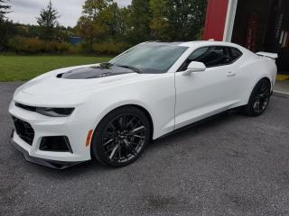 Used 2018 Chevrolet Camaro ZL1 l SUPERCHARGED l NAV l LOW MILEAGE l for sale in Burlington, ON