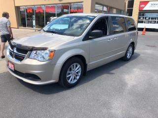 Used 2015 Dodge Grand Caravan SXT Plus - DVD, One Owner, Backup Camera! for sale in Kingston, ON