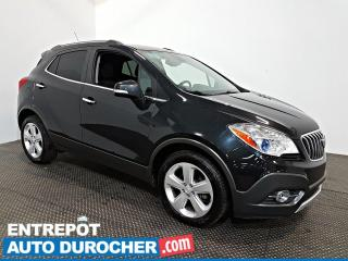 Used 2015 Buick Encore Leather NAVIGATION - A/C - Caméra de Recul - CUIR for sale in Laval, QC