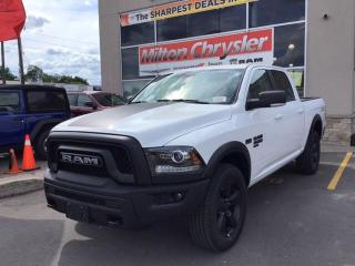 New 2019 RAM 1500 Classic WARLOCK CREW 4X4 for sale in Milton, ON