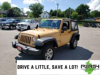 Used 2014 Jeep Wrangler Sport | 2 Door | Soft-Top | Trail Rated | Automati for sale in Mitchell, ON