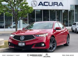 Used 2018 Acura TLX 2.4L P-AWS w/Elite Pkg A-Spec for sale in Markham, ON