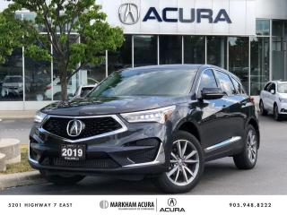 Used 2019 Acura RDX Elite at for sale in Markham, ON