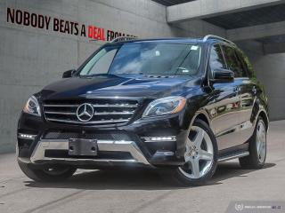 Used 2014 Mercedes-Benz ML-Class 4MATIC 4dr ML350 BlueTEC for sale in Mississauga, ON