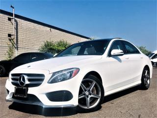 Used 2017 Mercedes-Benz C-Class |4MATIC|PANORAMIC|HEATED MEMORY SEATS|NAVI|REAR VIEW CAM| for sale in Brampton, ON