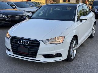 Used 2016 Audi A3 4dr Sdn quattro 2.0T Komfort for sale in Scarborough, ON