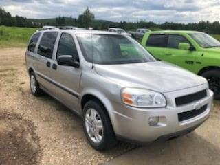 Used 2007 Chevrolet Uplander LS,7 PASSENGER,CLEAN CAR FAX for sale in Slave Lake, AB