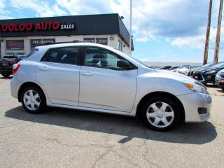 Used 2009 Toyota Matrix S AWD AUTO NO ACCIDENT ONE OWNER CERTIFIED for sale in Milton, ON