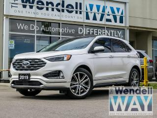 Used 2019 Ford Edge Titanium Nav/Pano Roof/AWD for sale in Kitchener, ON