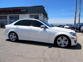 Used 2012 Mercedes-Benz C-Class C300 4MATIC Sport AWD Navigation Camera Certified for sale in Milton, ON