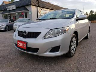 Used 2010 Toyota Corolla Base 4-Speed AT for sale in Bloomingdale, ON