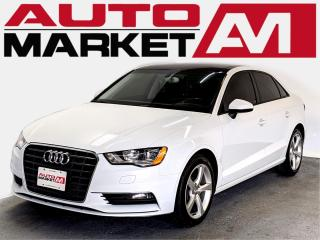 Used 2015 Audi A3 CERTIFIED,Leather,WE APPROVE ALL CREDIT for sale in Guelph, ON