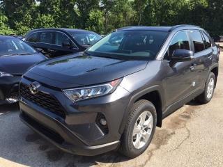 New 2020 Toyota RAV4 RAV4 FWD XLE RAV4 XLE FWD for sale in Mississauga, ON