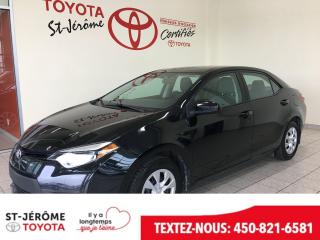 Used 2014 Toyota Corolla * VITRES ET PORTES ÉLEC * for sale in Mirabel, QC