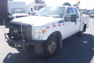 Used 2011 Ford F-350 SD SuperCab Service Truck 4WD for sale in Burnaby, BC