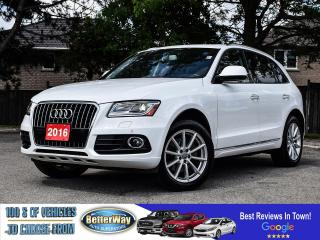 Used 2016 Audi Q5 3.0L TDI Technik |LEATHER |NAVIGATION |AWD |LOADED for sale in Stoney Creek, ON
