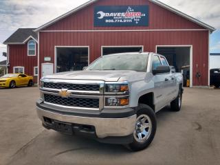Used 2015 Chevrolet Silverado 1500 LS 4x4! 6 passenger! Cruise! AC! for sale in Dunnville, ON