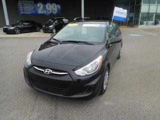 Used 2017 Hyundai Accent 5dr HB Man L,PRISE AUX,RADIO AM/FM for sale in Mirabel, QC