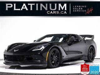 Used 2016 Chevrolet Corvette Stingray, 450HP, 1LT, MANUAL, NAV, CAM, REV MATCH for sale in Toronto, ON