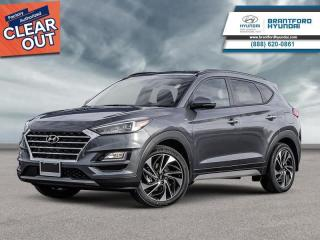 New 2020 Hyundai Tucson Ultimate  - Navigation -  Leather Seats - $232 B/W for sale in Brantford, ON