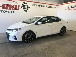 Used 2014 Toyota Corolla 4dr Sdn CVT S for sale in St-Hubert, QC