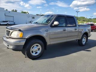 Used 2001 Ford F-150 LARIAT CREW CAB 4X4, CUIR, COUVRE BOITE for sale in Vallée-Jonction, QC