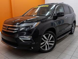 Used 2016 Honda Pilot TOURING AWD TOIT PANO REG ADAPT NAV CUIR *DVD* for sale in St-Jérôme, QC