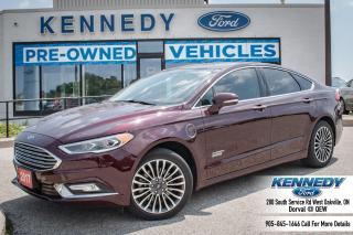 Used 2017 Ford Fusion Energi SE Luxury for sale in Oakville, ON