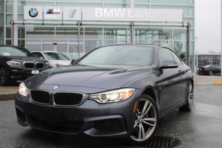 Used 2014 BMW 4 Series xDrive Coupe for sale in Langley, BC