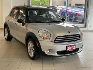 Used 2012 MINI Cooper Countryman Low Km's  EXTRA Clean for sale in Burnaby, BC