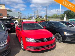 Used 2016 Volkswagen Jetta Manuelle Trendline 1.4 TSI + Caméra + Bluetooth for sale in Québec, QC