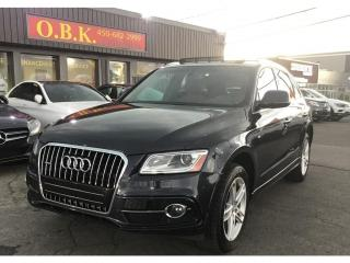 Used 2016 Audi Q5 S-LINE Progressiv-NAVIGATION-TOI PANO-CAMERA RECUL for sale in Laval, QC