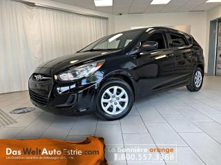 Used 2013 Hyundai Accent GL Hatchback, Gr. Électrique, Manuel for sale in Sherbrooke, QC