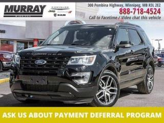 Used 2017 Ford Explorer 4WD 4DR SPORT for sale in Winnipeg, MB
