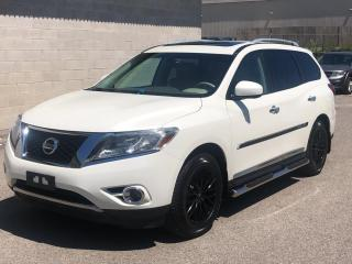 Used 2015 Nissan Pathfinder 4WD 4DR PLATINUM for sale in Caledon, ON