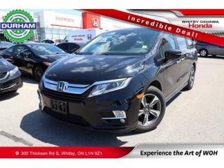 Used 2019 Honda Odyssey w/Navigation for sale in Whitby, ON