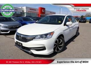 Used 2016 Honda Accord LX for sale in Whitby, ON