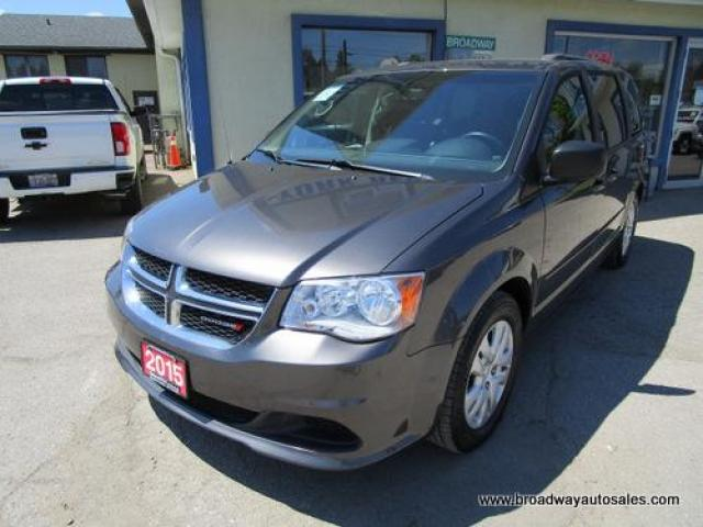 2015 Dodge Grand Caravan FAMILY MOVING SXT EDITION 7 PASSENGER 3.6L - V6.. CAPTAINS.. FULL STOW-N-GO.. CD/AUX INPUT.. KEYLESS ENTRY.. ECON-BOOST PACKAGE.. BLUETOOTH..
